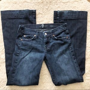 7 For All Mankind 7FAM Dojo Jeans Size 26